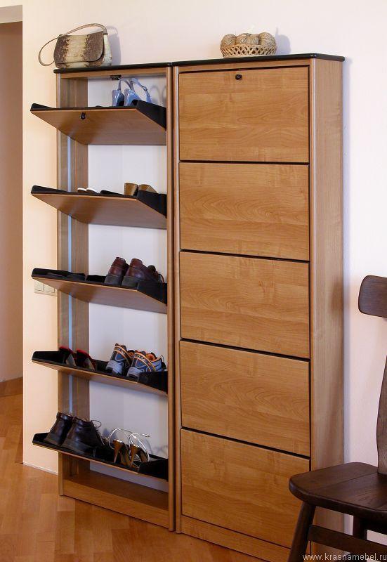 Обувные шкафы и обувницы